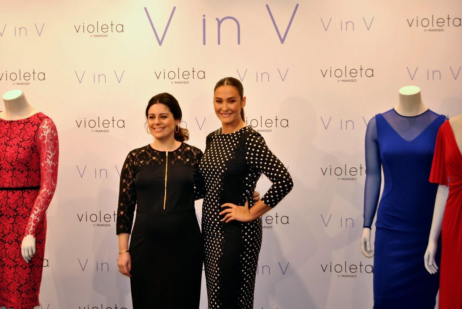 """V in V, la colección de Vicky Martín Berrocal para """"Violeta by Mango"""""""