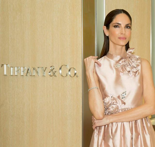 Eugenia Silva, madrina de la nueva tienda de Tiffany
