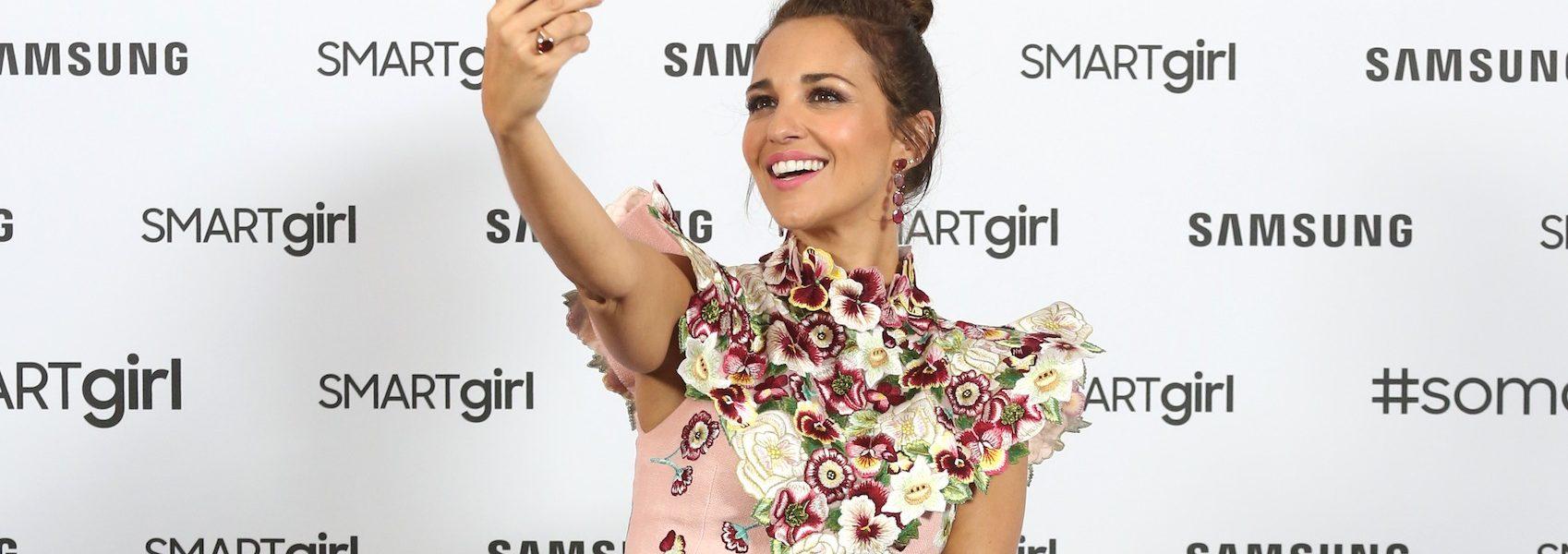 Paula Echevarría, nueva lección de estilo con su vestido de flores