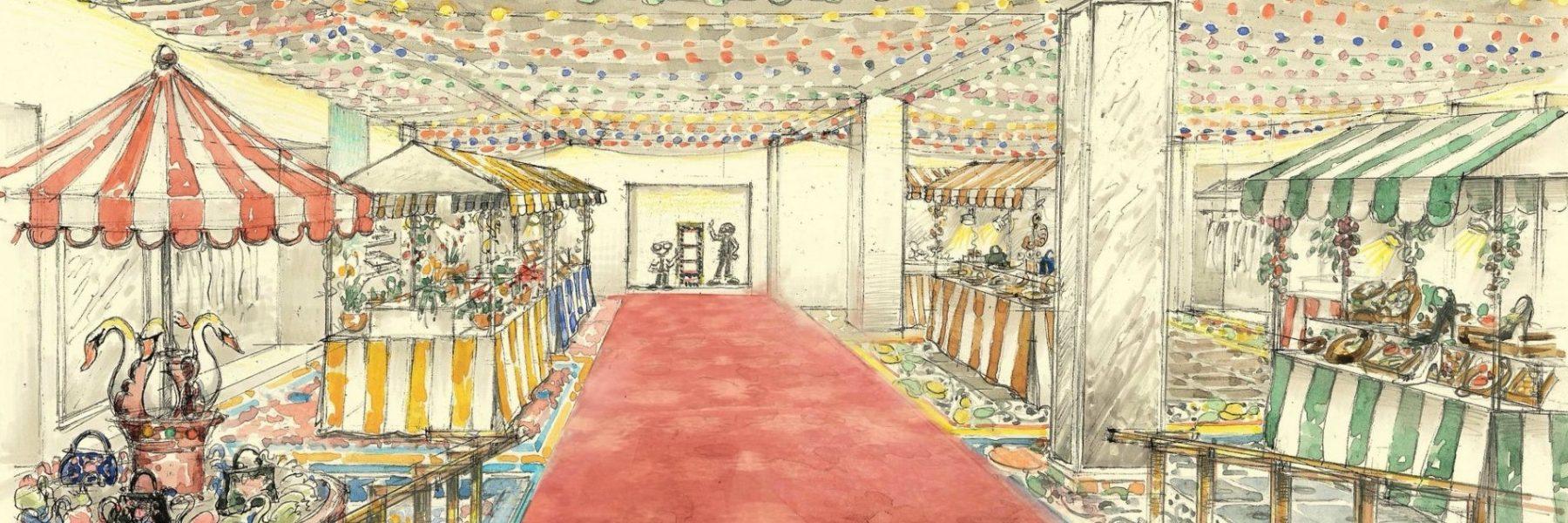 Anota en la agenda esta escapada, el mejor Mercado de Navidad estará en Harrods gracias a Dolce & Gabbana