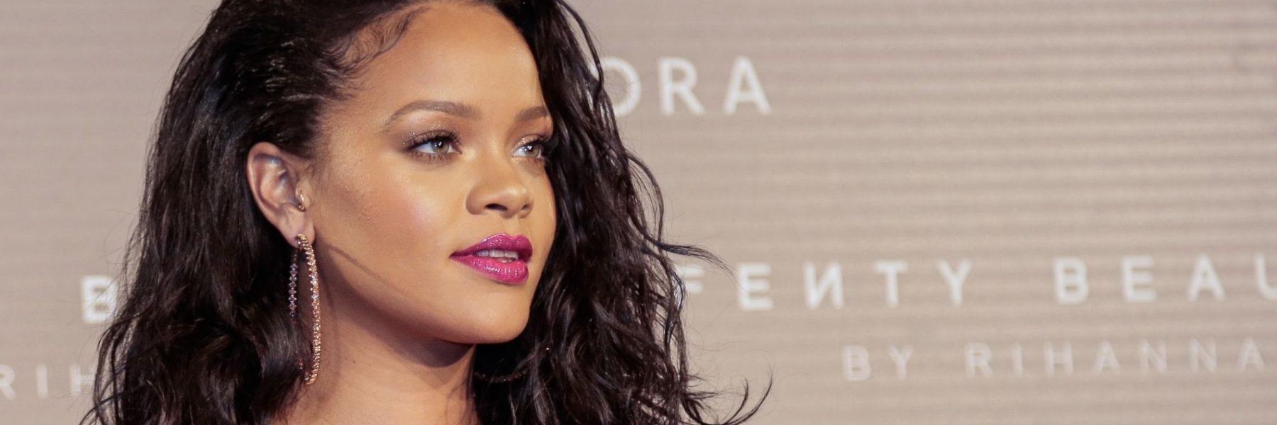 Rihanna revoluciona Madrid presentando su nueva línea de cosméticos
