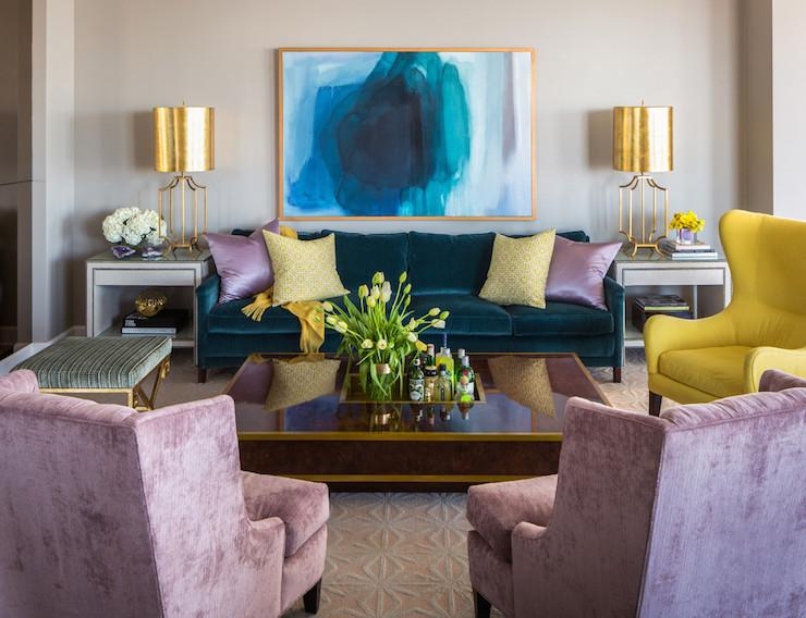worlds-away-windham-table-lamps-peacock-blue-velvet-sofa-nailhead-end-tables