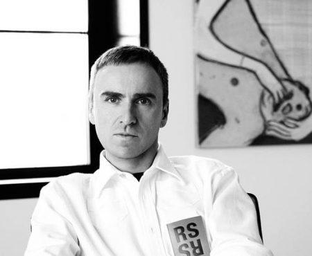 Raf Simons, nuevo director creativo de Calvin Klein