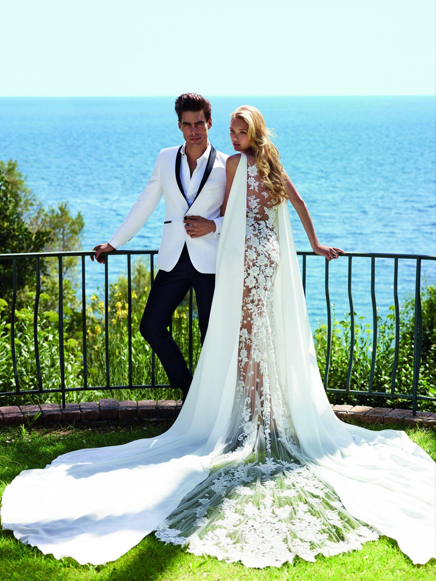 """Will You Marry Me?"" La espectacular campaña de Pronovias con Jon Kortajarena y Romee Strijd, la Top del momento"