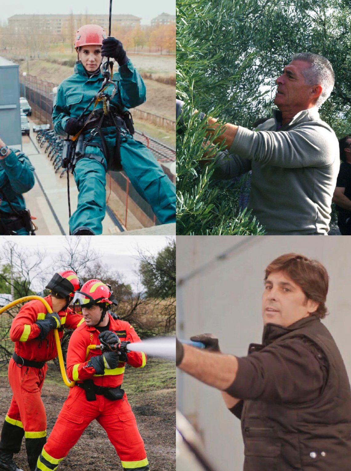 Carolina Cerezuela, Vicky Martín Berrocal o Bustamante cambiaran su profesión por otra muy diferente en 'Trabajo Temporal'