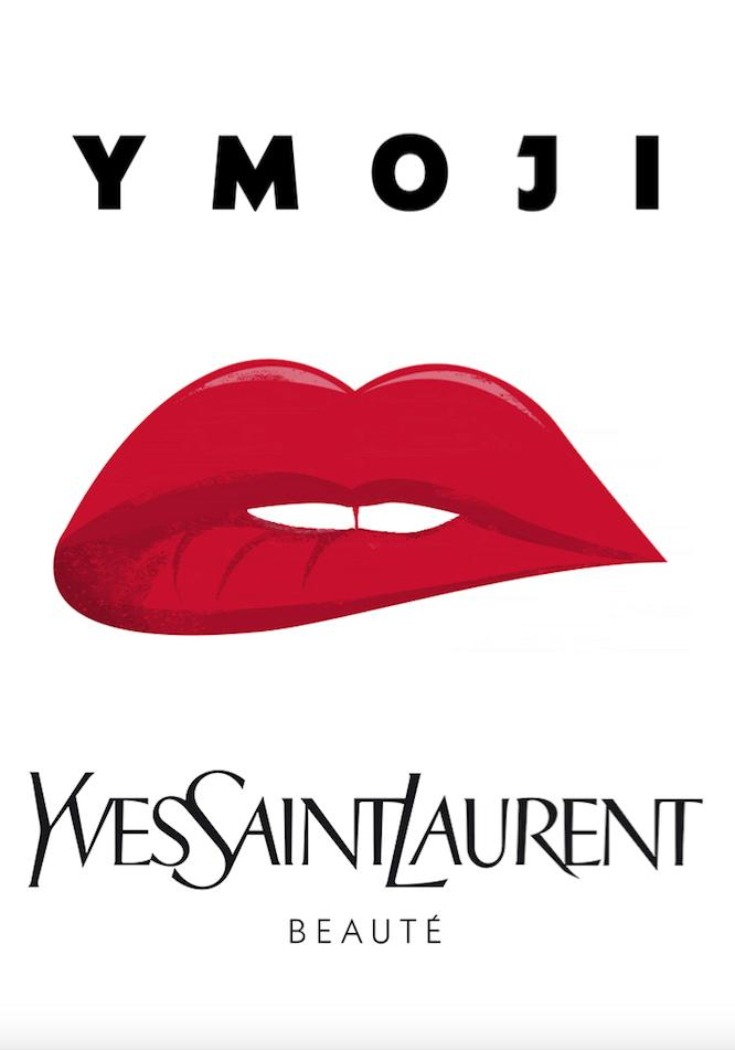Yves Saint Laurent Beauté presenta su colección exclusiva de emojis