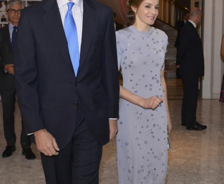 Este es posiblemente el mejor look que ha llevado la reina Letizia