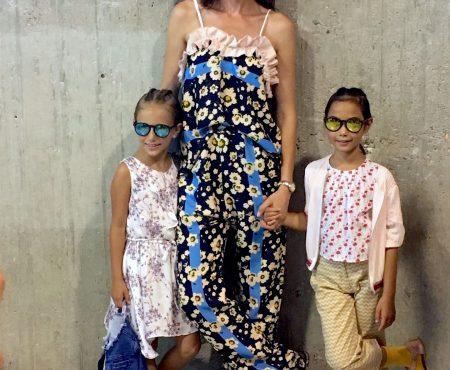 Nieves Álvarez y Belén Villalobos presentan su nueva colección de moda infantil en FIMI