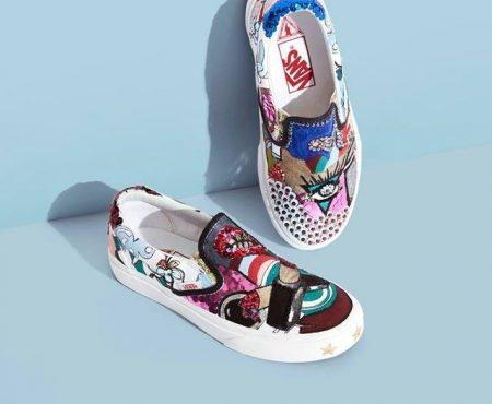 Marc Jacobs y Vans se unen para lanzar una exclusiva colección de zapatillas