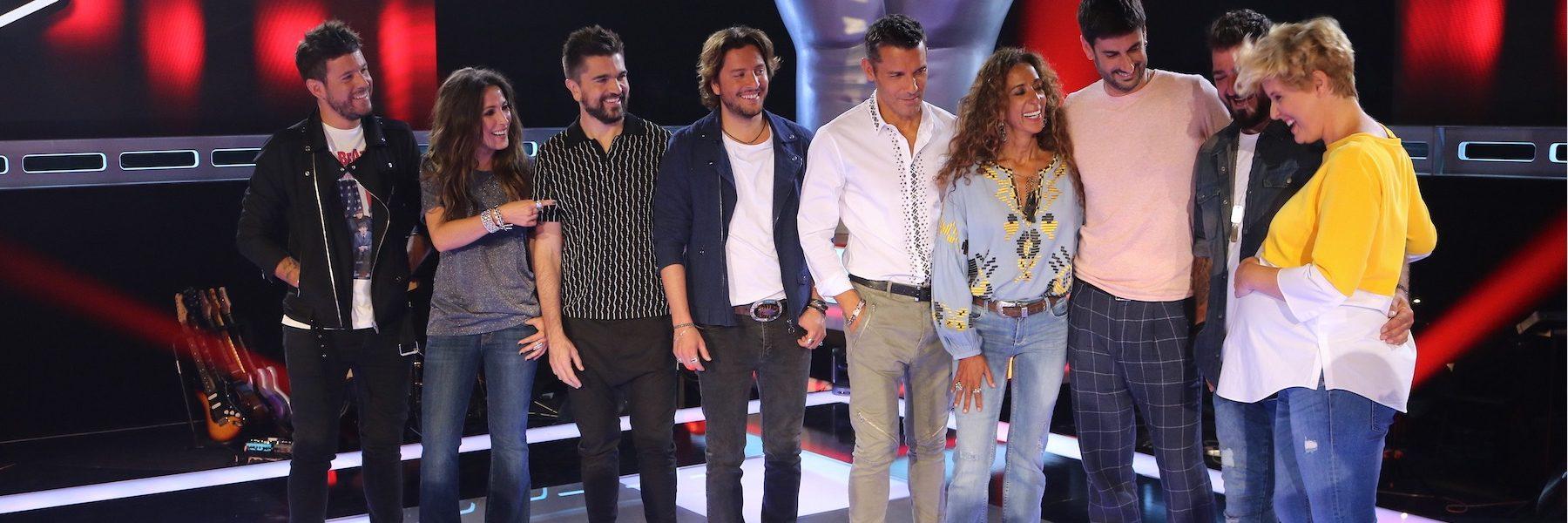 ¡La Voz regresa a Telecinco! Pasamos una mañana con el equipo y sus coaches