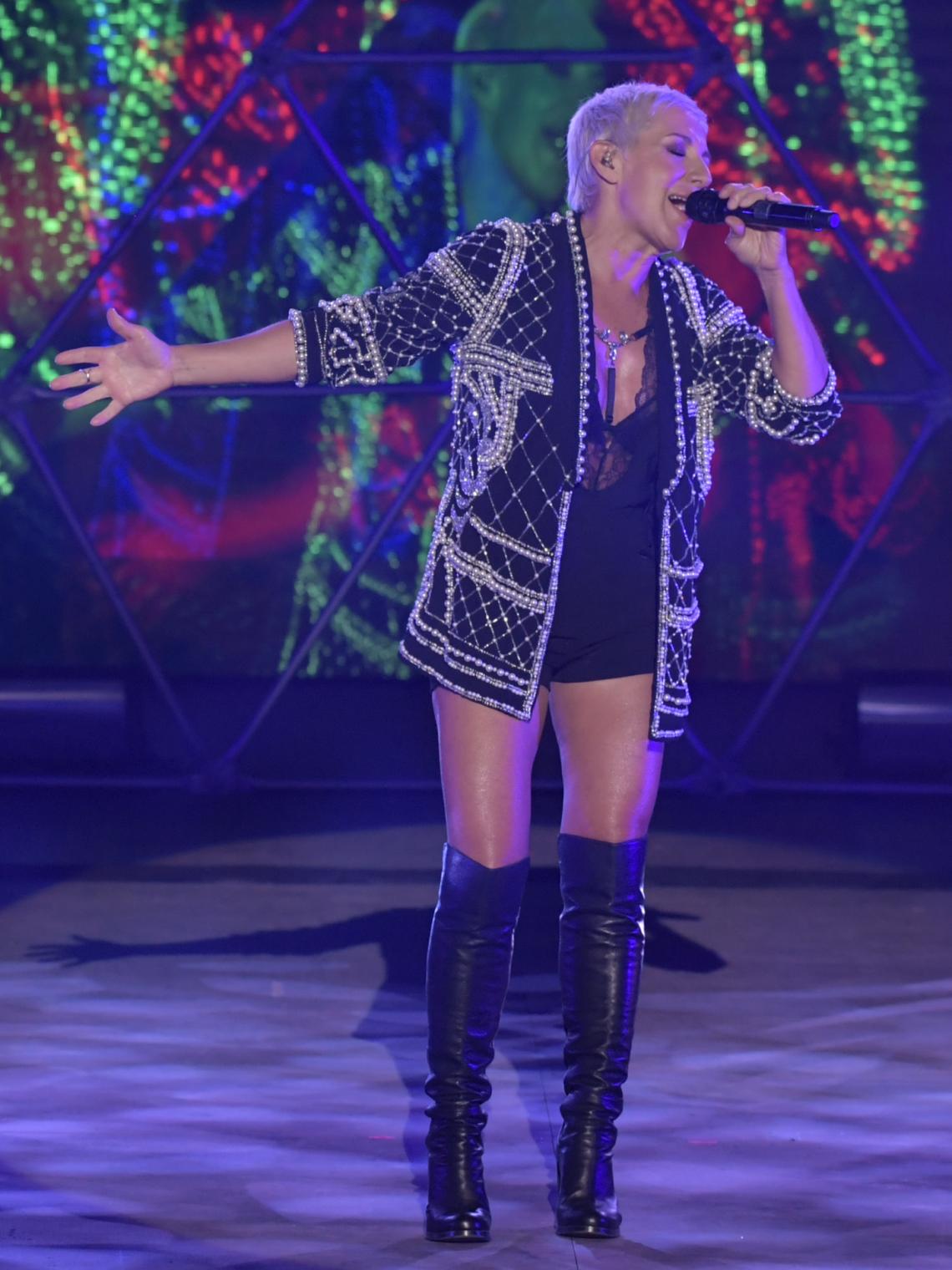 Ana Torroja encandiló al público de Starlite con la banda sonora de nuestras vidas