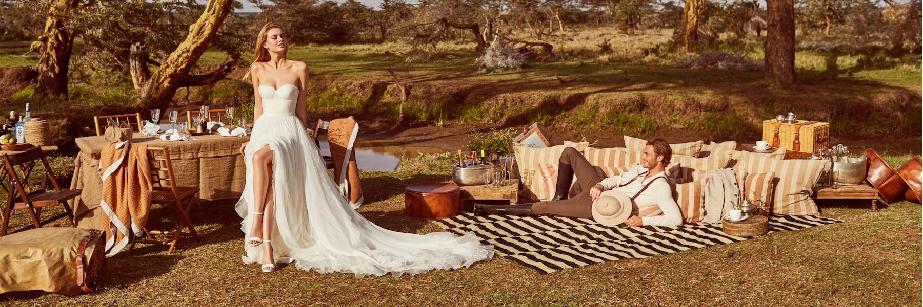 #CuteAlert futuras novias... Tenemos las imágenes de la espectacular campaña de Pronovias 'Wild Love in East Africa'