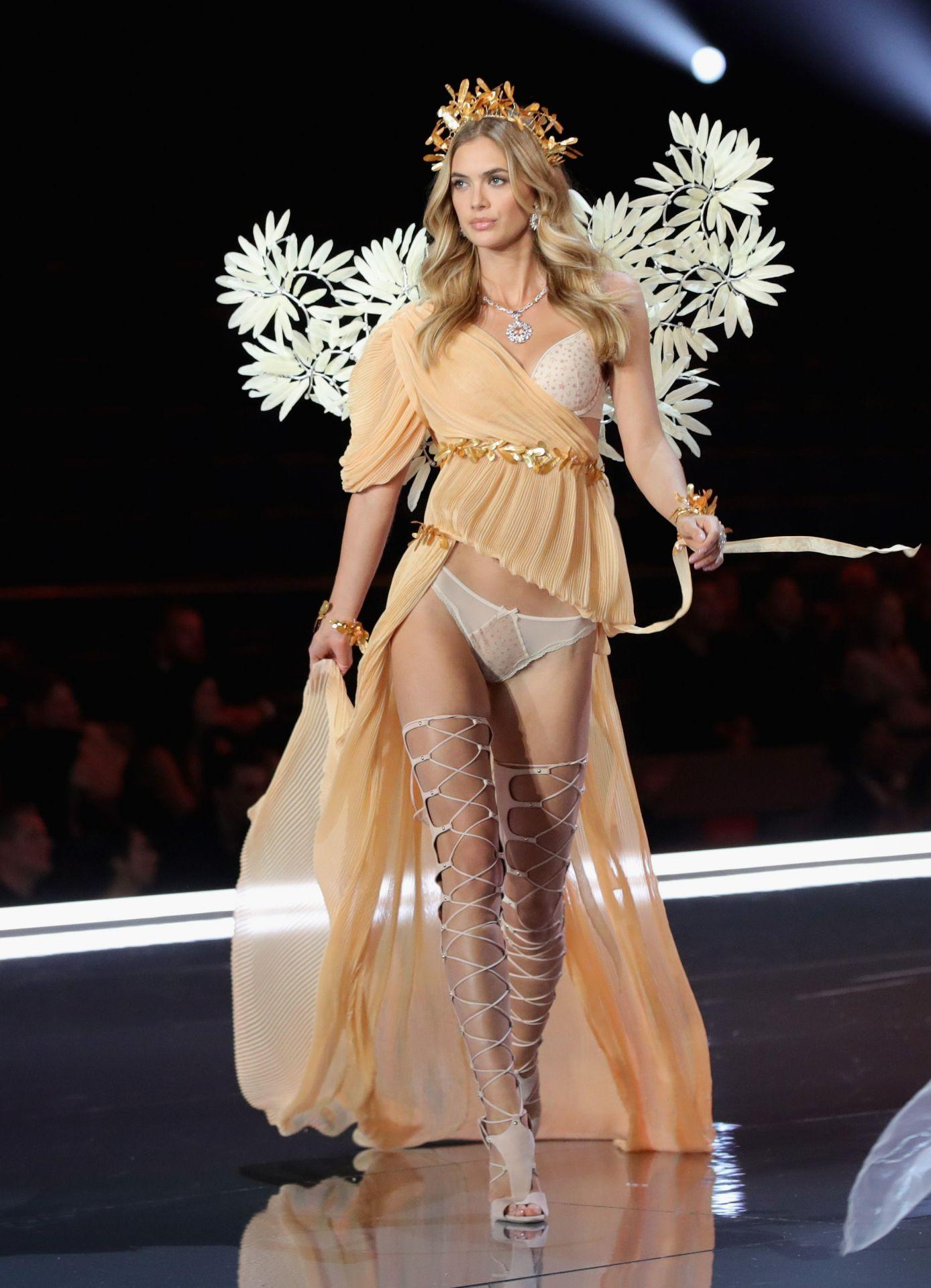 Megan Williams wears look made with Swarovski crystals at VSFS (4)