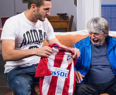 Los jugadores del Atlético de Madrid Koke y Gabi, invitados estrella en 'La que se avecina'