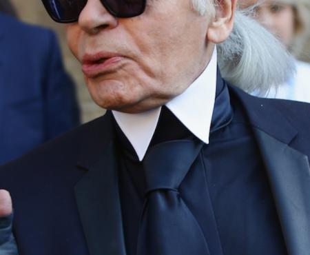 El guardaespaldas MODELO de Karl Lagerfeld diseña su primera colección