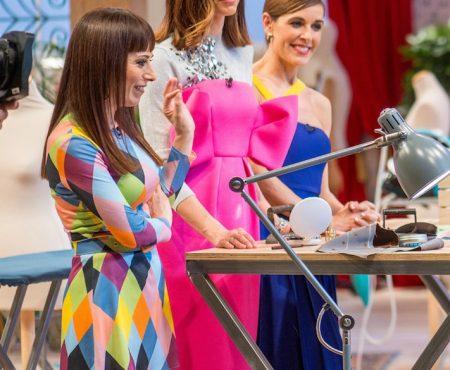 Eugenia Silva, derroche de estilo español en 'Maestros de la Costura' (sí, nosotras también amamos su espectacular vestido)