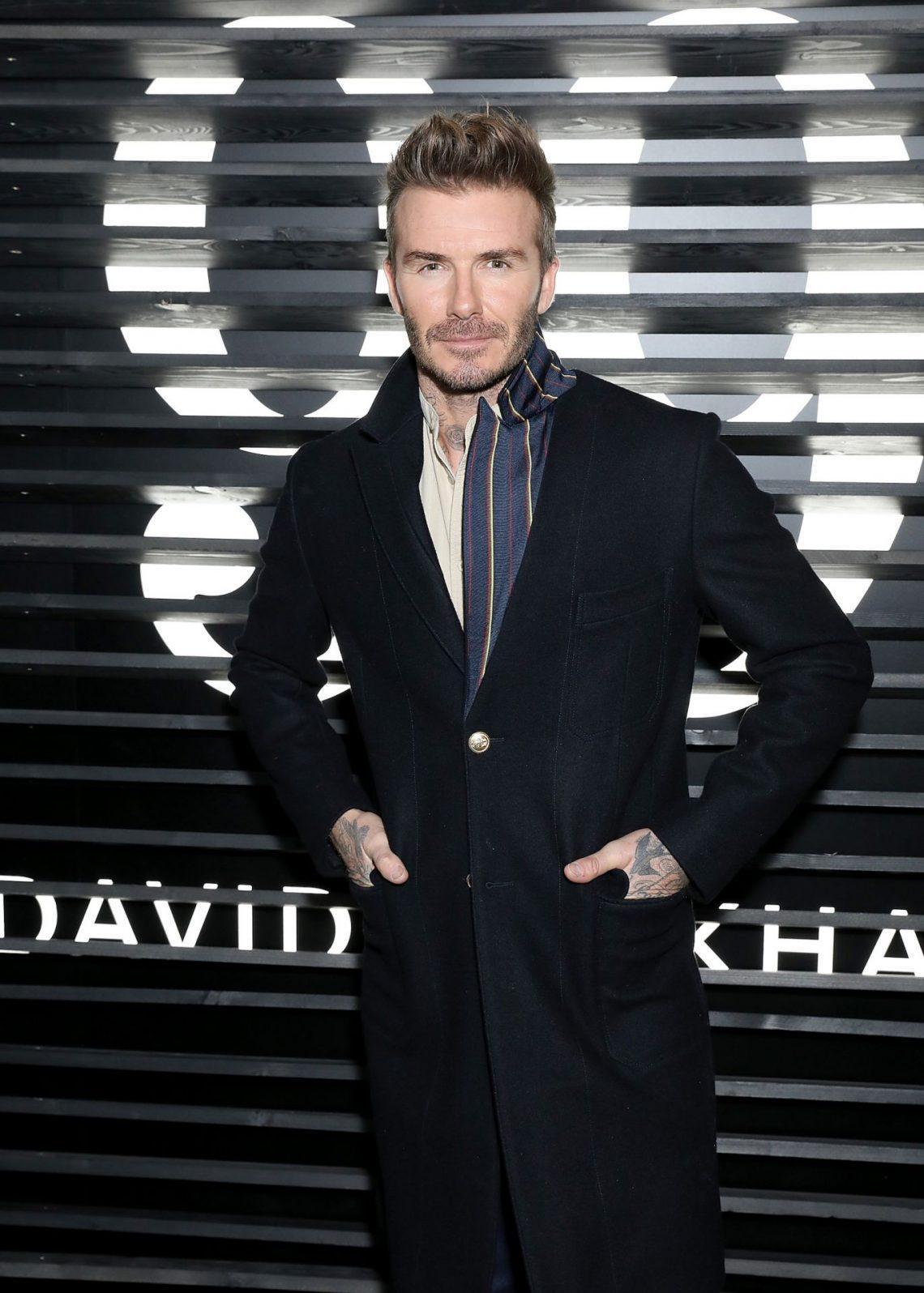 David Beckham presenta en una fiesta en Londres su nueva marca de cuidado masculino