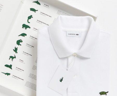 Lacoste lanza una colección exclusiva en la que cambia su cocodrilo por animales en peligro de extinción