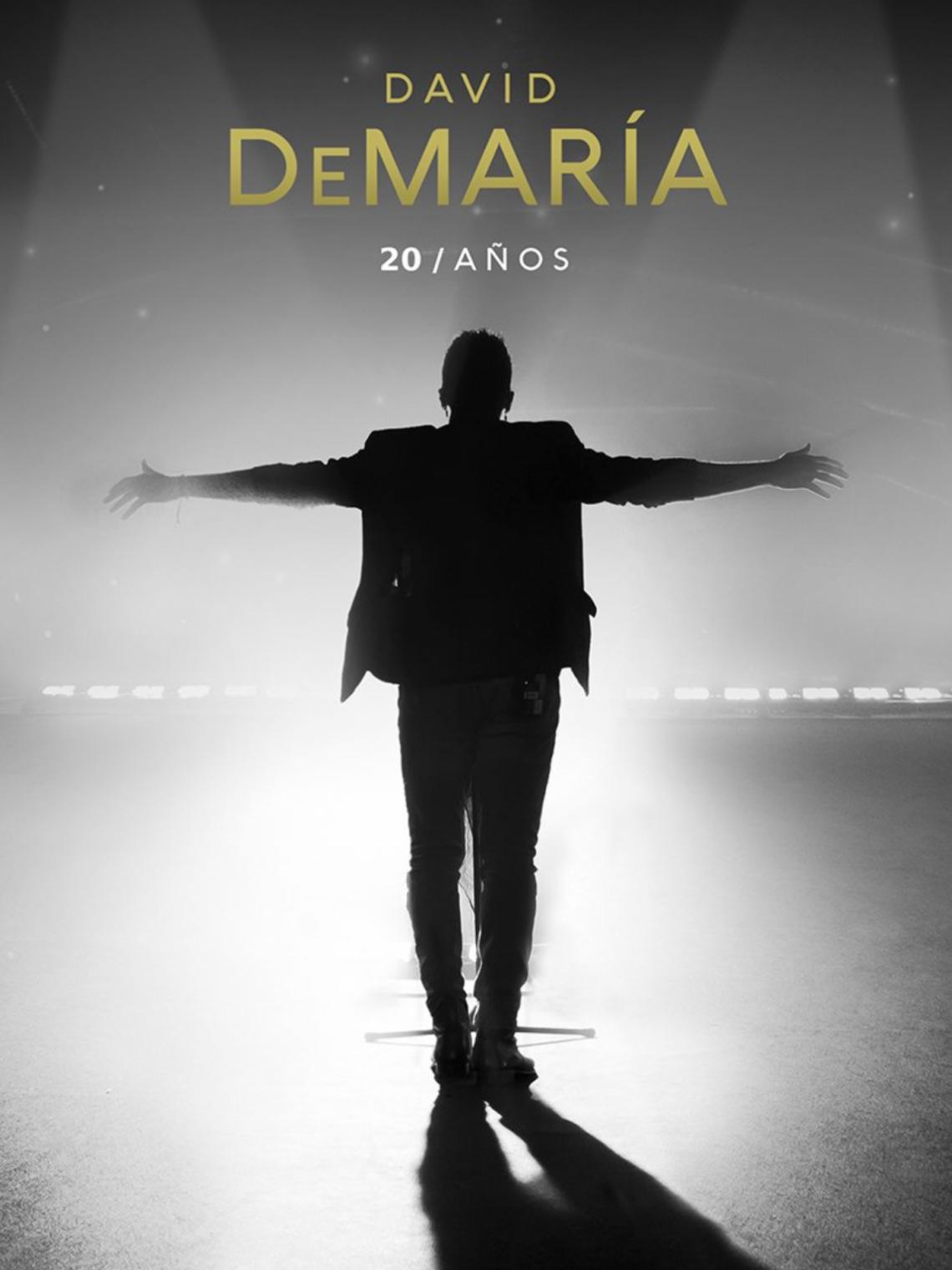 Ya está a la venta el disco más especial de David DeMaría, en el que celebra sus 20 años en la música