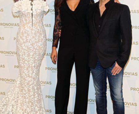 Irina Shayk, invitada de excepción en el fitting de la nueva colección de una firma de moda nupcial