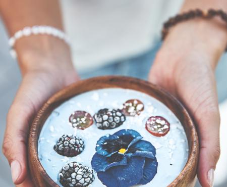 La comida que más triunfa en instagram es… ¡azul! (y cuidado porque además tiene nombre propio)