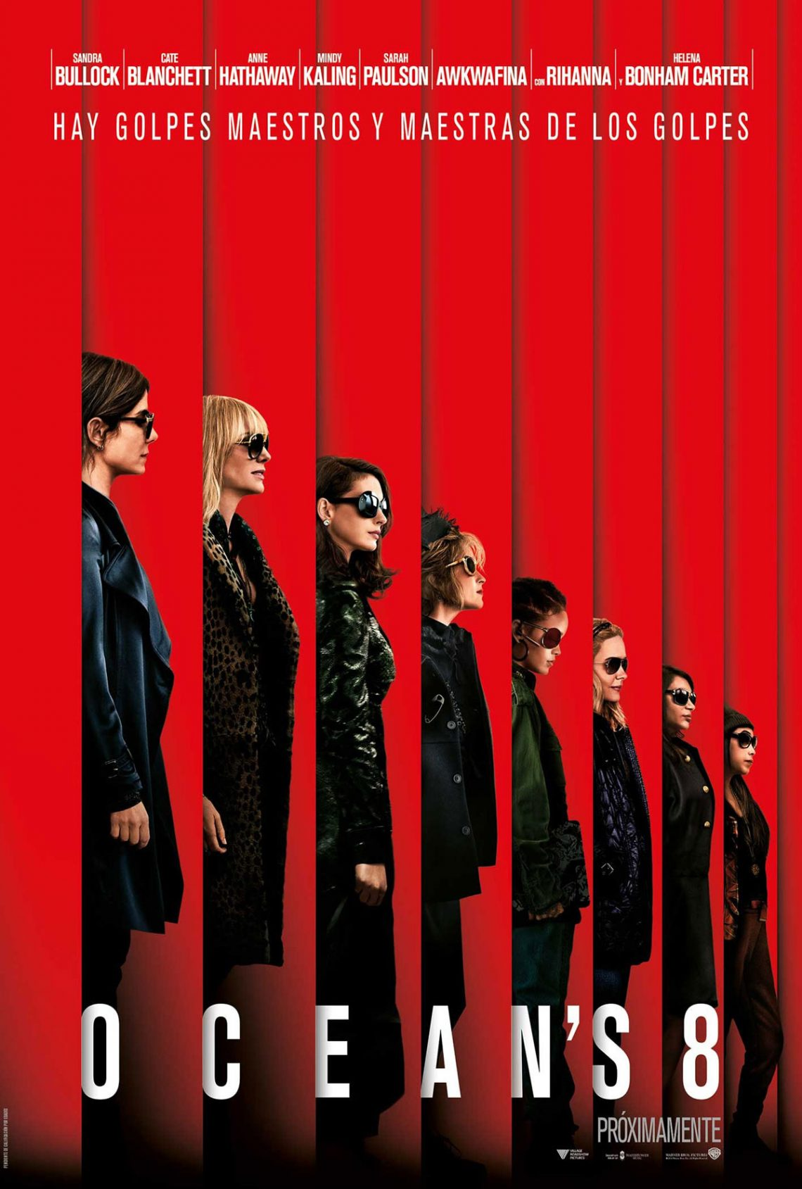 Anne Hathaway, Rihanna y Sandra Bullock planean robar en la famosa MET Gala en su última película