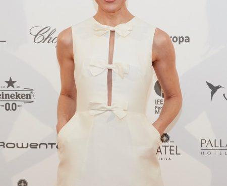 Raquel Sánchez Silva, la mejor embajadora de la moda española en Mercedes-Benz Fashion Weekend Ibiza