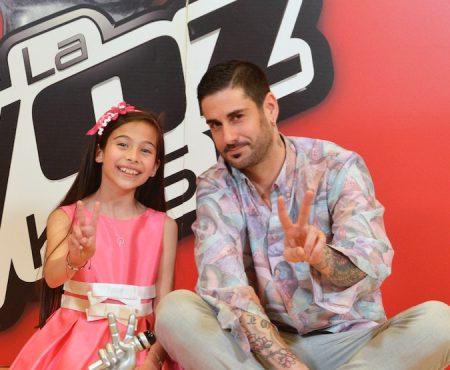 Melendi:  'Melani es una niña muy especial, siempre conectaba con la posibilidad de que ganase La Voz Kids porque es un niña mágica'