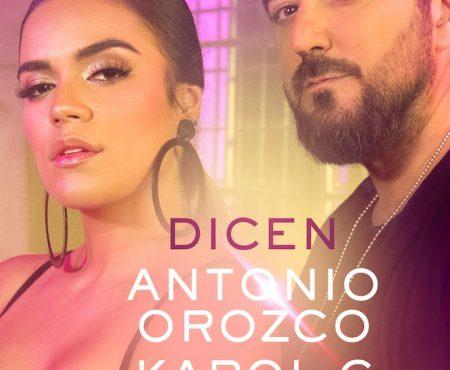 Antonio Orozco y Karol G presentan 'Dicen', un sorprendente tema que pretende renovar la rumba catalana