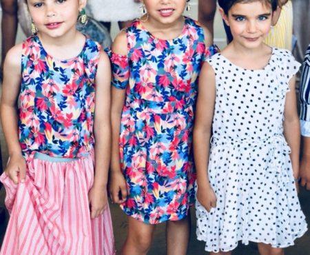 La firma de Nieves Álvarez y Villalobos triunfa con el desfile de su nueva colección 'Frida' ¡con unas mini modelos… IDEALES!