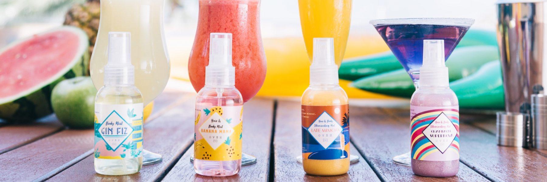 Oveh, la marca que está revolucionando el mundo de los perfumes, lanza brumas faciales y corporales para este verano