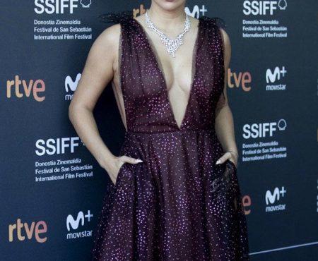 Así es el vestido de Blanca Suárez (que ya fichamos en MBFWM) con el que ha acaparado todas las miradas en el Festival de San Sebastián