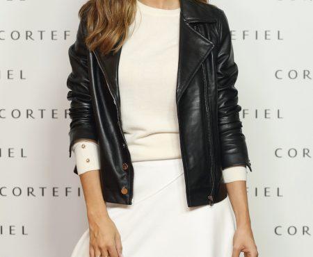 En la presentación de la nueva colección de Cortefiel hemos visto a Sara Carbonero con el look que todas queremos