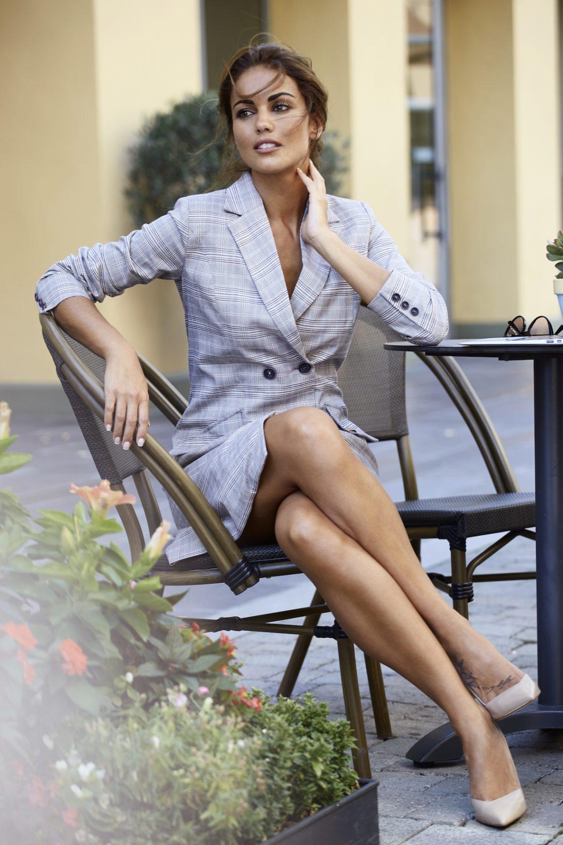 Para una mujer elegante y sofisticada, así son las nuevas prendas de 'Blue Palm', la marca de Lara Álvarez