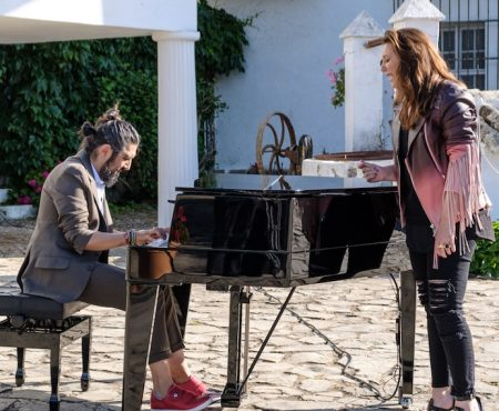 Niña Pastori visita a Bertín Osborne en su casa familiar de Jerez de la Frontera, en 'Mi casa es la tuya'