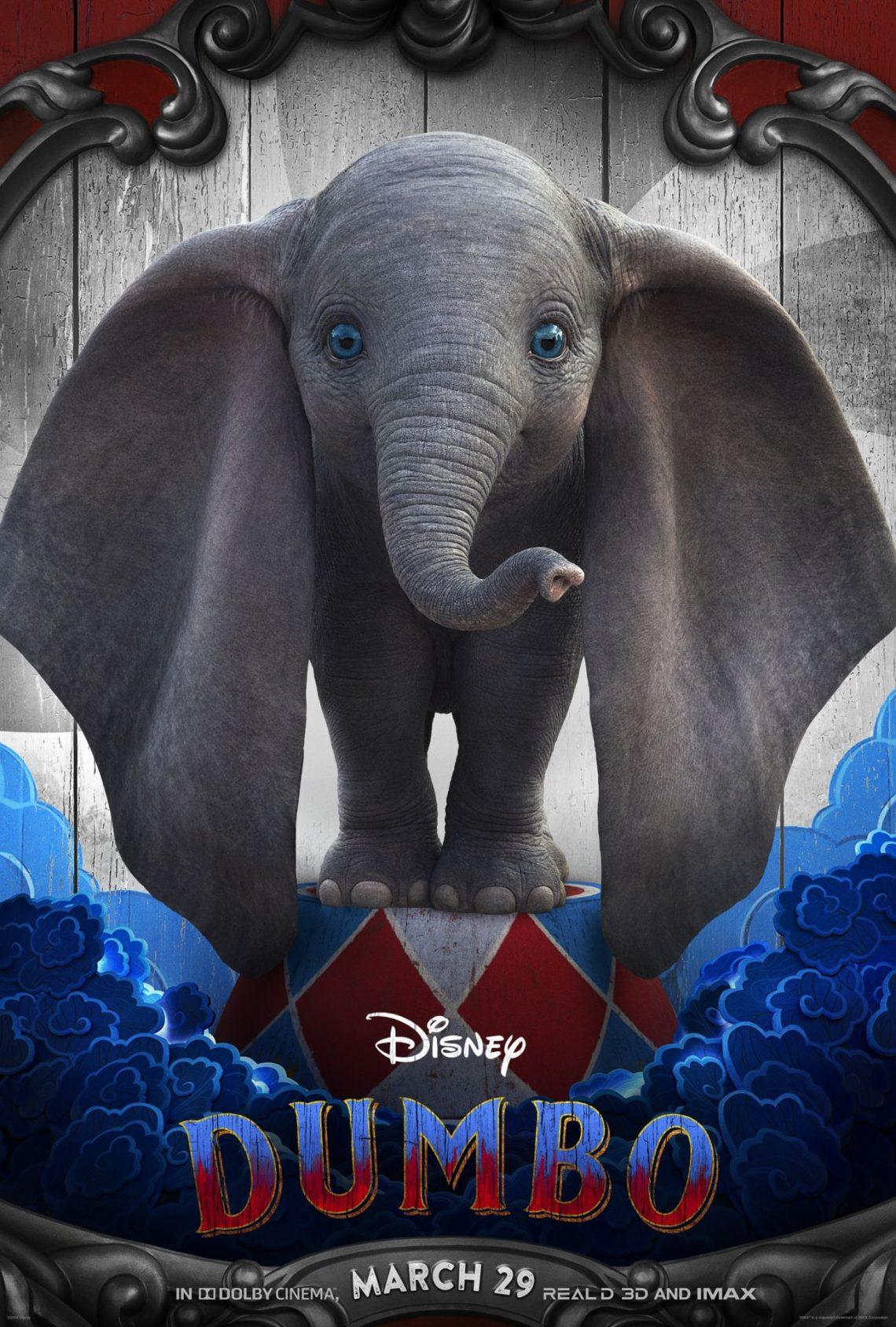 La artista española Najwa, canta el tema principal de 'Dumbo' de Tim Burton