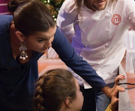 'MasterChef Junior': los aspirantes se juegan la semifinal terminando un plato con una impresora 3D