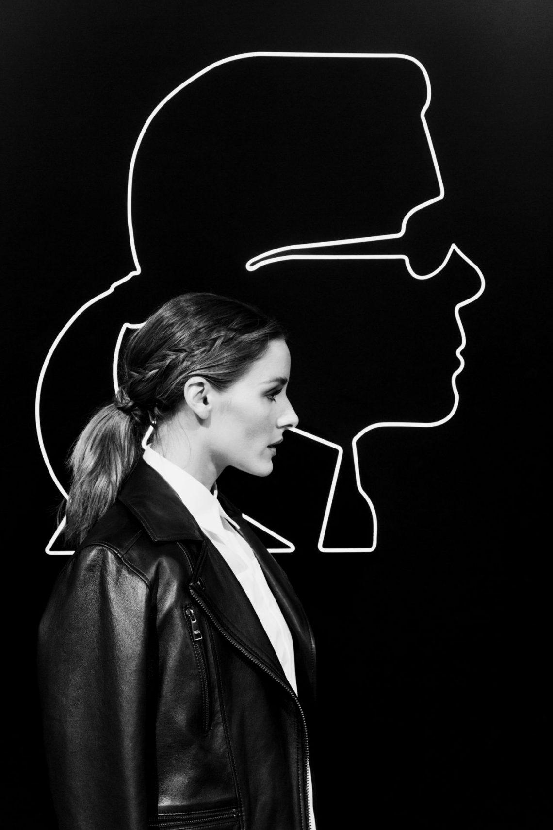 Olivia Palermo se une a Karl Lagerfeld para crear una colección de cinco diseños ¡pura fantasía!