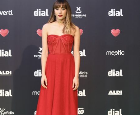 Desfile de artistas por la alfombra roja de los Premios Cadena Dial