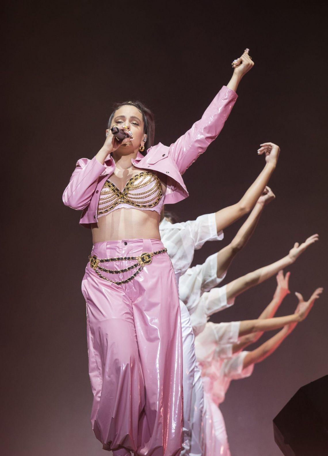 Rosalía deslumbra en el Bilbao BBK Live con lleno absoluto y un público eufórico