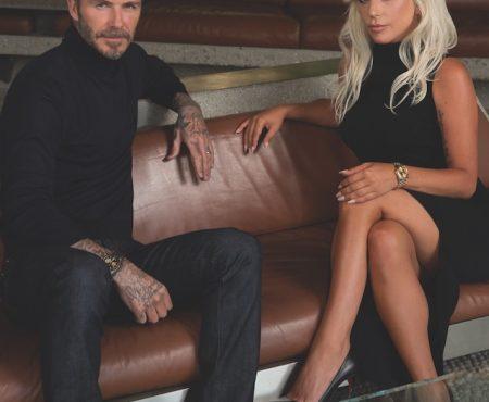 Cuando Lady Gaga conoció a Beckham (y su conversación nos parece fascinante )