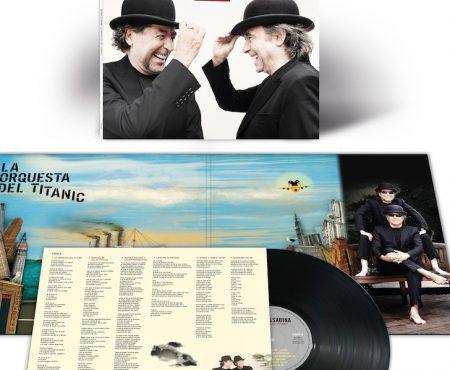 ¡Sorpresa! En vísperas de sus esperados conciertos en Madrid y Barcelona, Serrat y Sabina lanzan en vinilo 'La orquesta del Titanic'