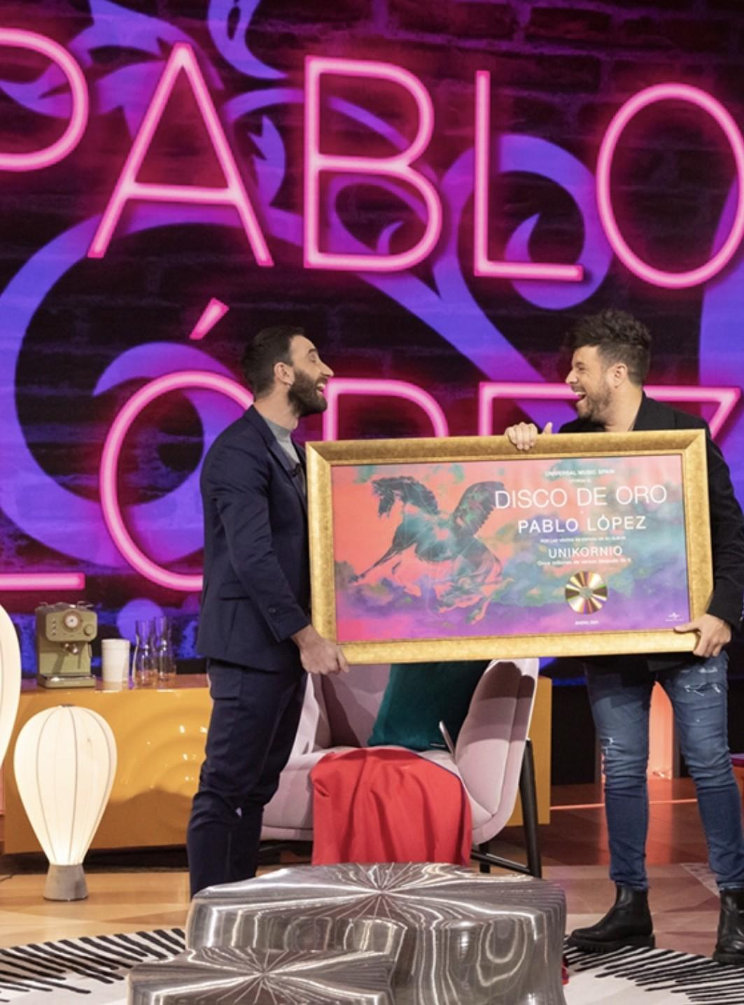 Dani Rovira estrena 'La Noche D' con la visita de cuatro grandes actrices, una entrevista a Sabina y la actuación de Pablo López