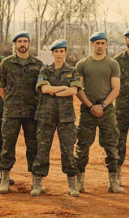 RTVE comienza el rodaje del thriller 'Fuerza de paz' con Silvia Alonso, Martiño Rivas o Félix Gómez entre sus protagonistas